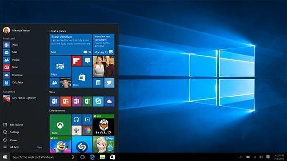 微软重新为Windows 7发布Windows 10升级补丁的照片