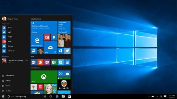 Windows 10 Redstone 2 Build 15002泄漏的照片