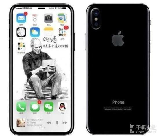 传闻中的iPhone 8双摄