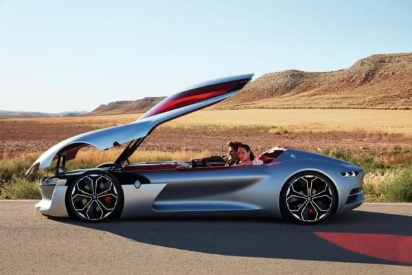雷诺发布Trezor概念电动超跑:使用蛤壳式车门的照片 - 45