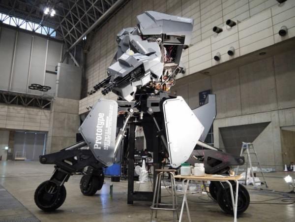 日本研制出可真人驾驶的机器人战士,卖1.2亿日元的照片 - 6
