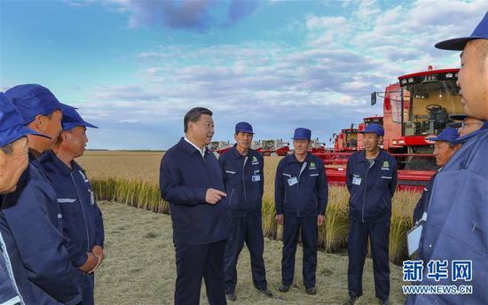 (時政)(6)習近平在東北三省考察并主持召開深入推進東北振興座談會