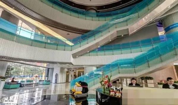 实拍深圳腾讯大厦:传说中马化腾所在的39层的照片 - 8