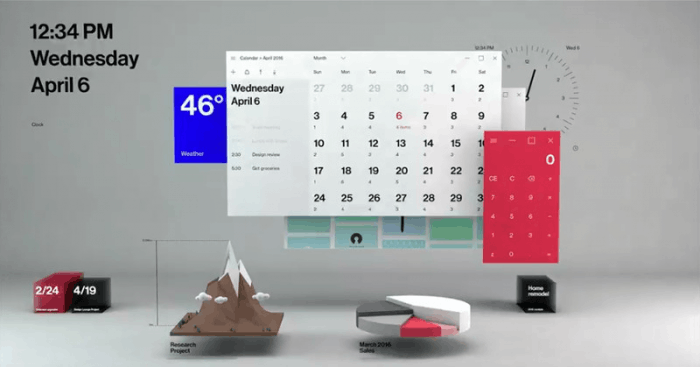 这是你要的毛玻璃特效:Fluent Design桌面和应用一览的照片 - 9
