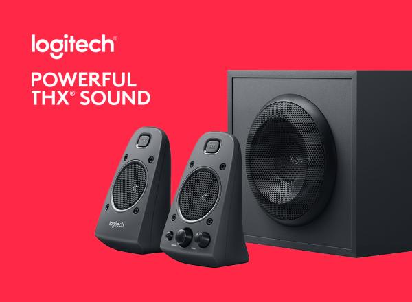 罗技发布Z625 Powerful THX Sound 2.1音箱:支持光纤输入的照片 - 1