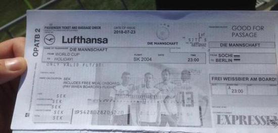提前为德国准备回程机票 瑞典记者成网红预言帝