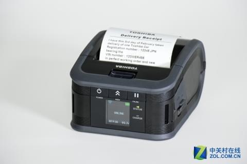 东芝推出打印宽度三英寸的票据打印机