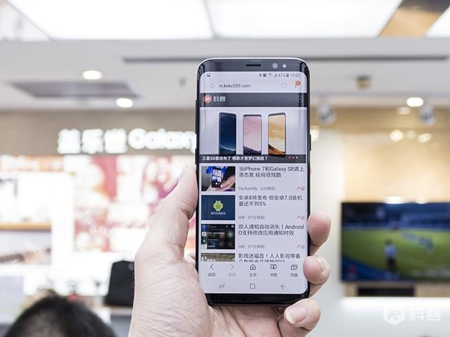 设计无可挑剔 国行三星Galaxy S8/S8+抢先体验图赏