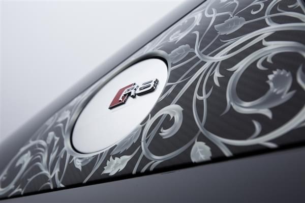 奥迪公布《最终幻想15》定制版R8:轮毂骚到极致的照片 - 7