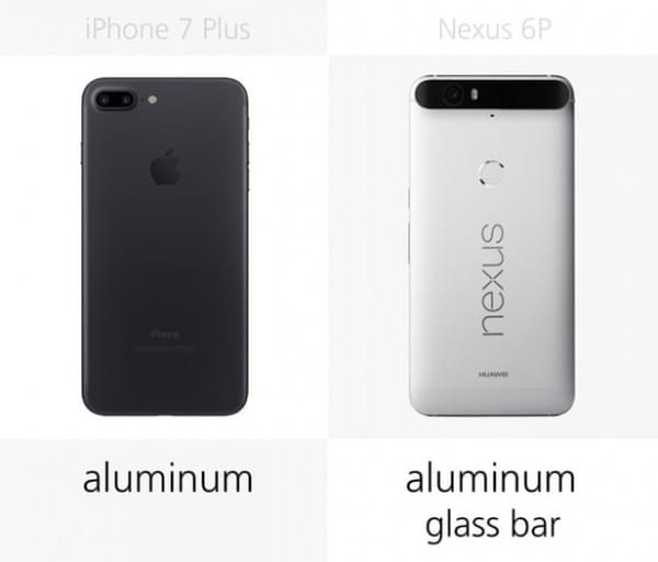 iPhone 7 Plus和Nexus 6P规格参数对比的照片 - 4
