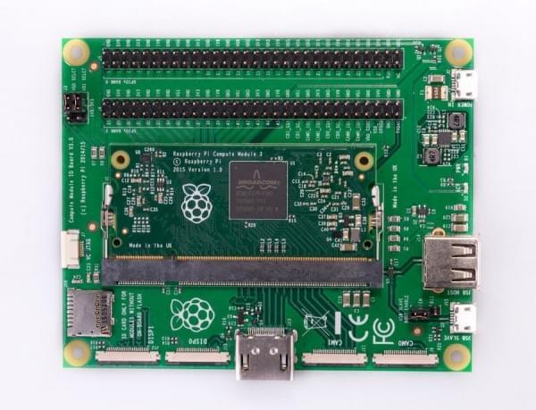 树莓派CM3发布:性能是初代的10倍,内存翻倍的照片 - 3