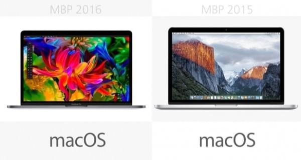 前后两代13英寸MacBook Pro规格参数对比的照片 - 18