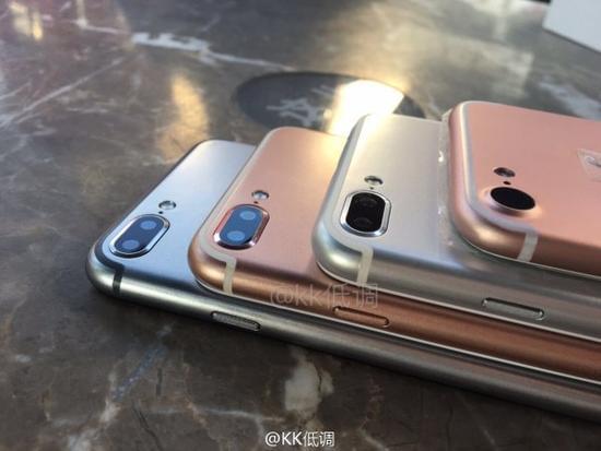 传苹果iPhone 7在9月16日发布 和硕联合富士康代工的照片