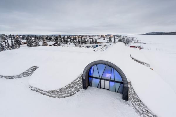 全年开放的瑞典冰酒店Icehotel 365即将开业的照片 - 1
