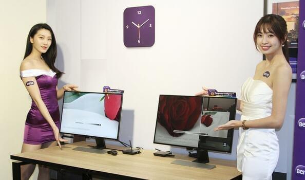 明基发布首款自动亮度显示器:用一天眼不累的照片 - 1