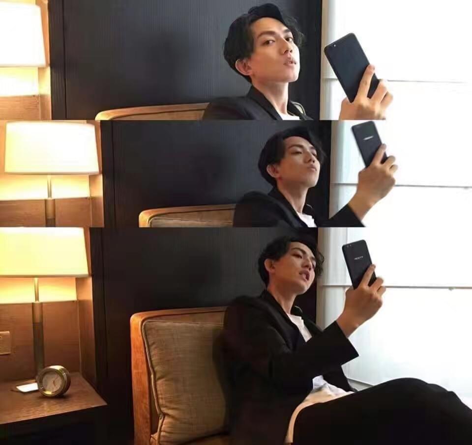 OPPO进军台湾:林宥嘉代言R9s黑色版的照片 - 1