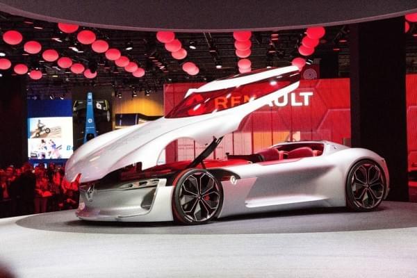 雷诺发布Trezor概念电动超跑:使用蛤壳式车门的照片 - 2