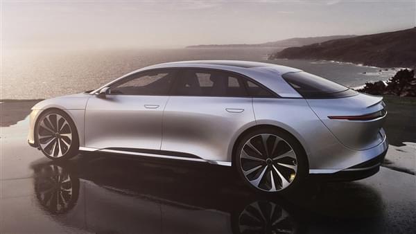 贾跃亭投资的Lucid Motors豪华电动汽车官图公布的照片 - 6