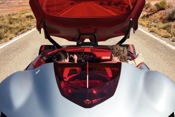 雷诺发布Trezor概念电动超跑:使用蛤壳式车门的照片 - 46