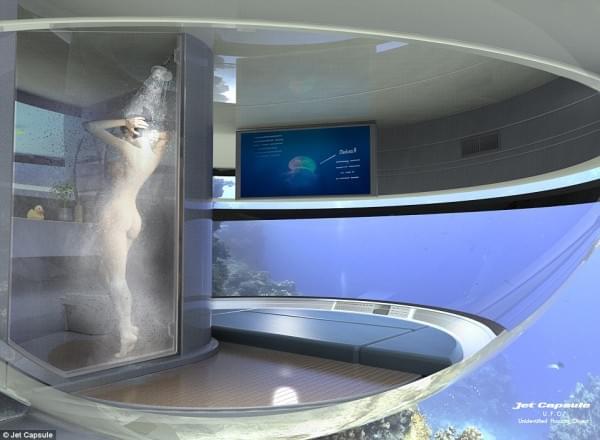 意设计师设计UFO形状游艇 两年后实现飞行功能的照片 - 16