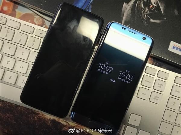 三星Galaxy S8真机对比S7 edge:60块买不了吃亏…的照片 - 1