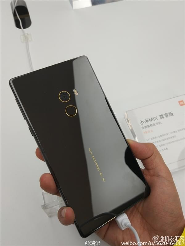 小米MIX全面屏手机真机现场图赏:3499元起售的照片 - 9