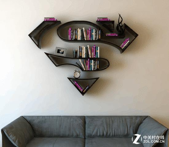 超人粉丝的最爱!新奇家庭多用书架上市