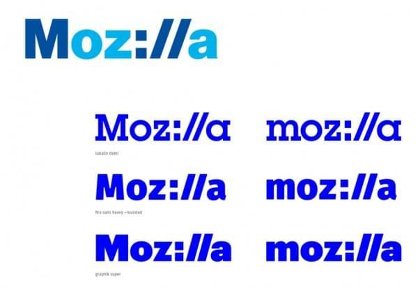 Mozilla邀请公众重新设计logo 方案缩小至4个的照片 - 4