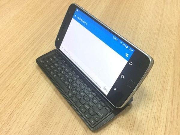 为 Moto Z 配备实体侧滑键盘:试试这款 Keyboard Mod 吧!的照片 - 4