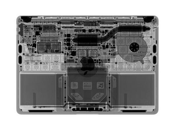 13英寸入门级新MacBook Pro拆解 很难修复的照片 - 7