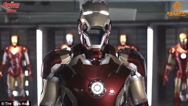 钢铁侠官方1:1战衣开卖:250万一套、能变形的照片 - 2