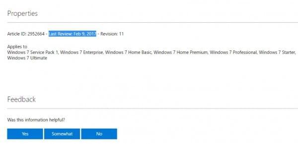 微软面向Windows 7/8.1重发两款遥测更新的照片
