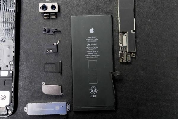 2675mAh容量电池:iPhone 7 Plus拆解视频的照片 - 8