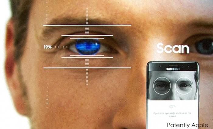 三星承认缺少面部识别的虹膜扫描没啥用的照片