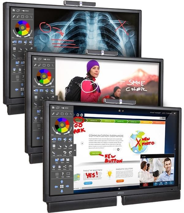 富可视推出70英寸4K触屏Windows 10 PC新品的照片 - 3