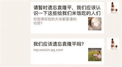 网文引发热议 我们是否应该暂时遗忘袁隆平