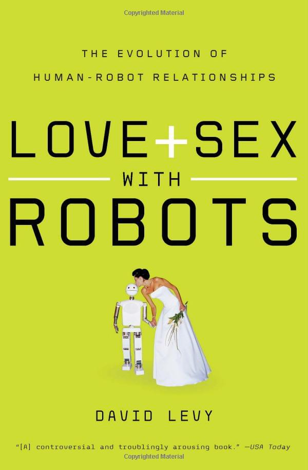 性爱机器人让你精疲力竭?人机婚姻或在2050年之前出现的照片 - 2