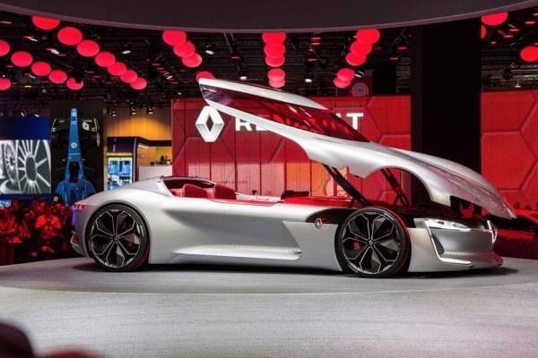 雷诺发布Trezor概念电动超跑:使用蛤壳式车门的照片 - 10