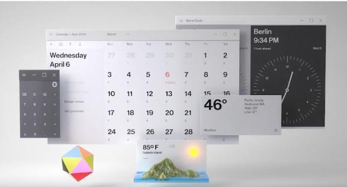 这是你要的毛玻璃特效:Fluent Design桌面和应用一览的照片 - 10