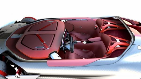 雷诺发布Trezor概念电动超跑:使用蛤壳式车门的照片 - 18