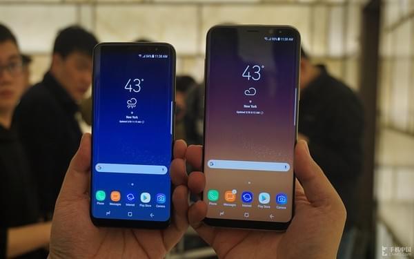 部分 Galaxy S8 机主遇到随机重启的问题的照片