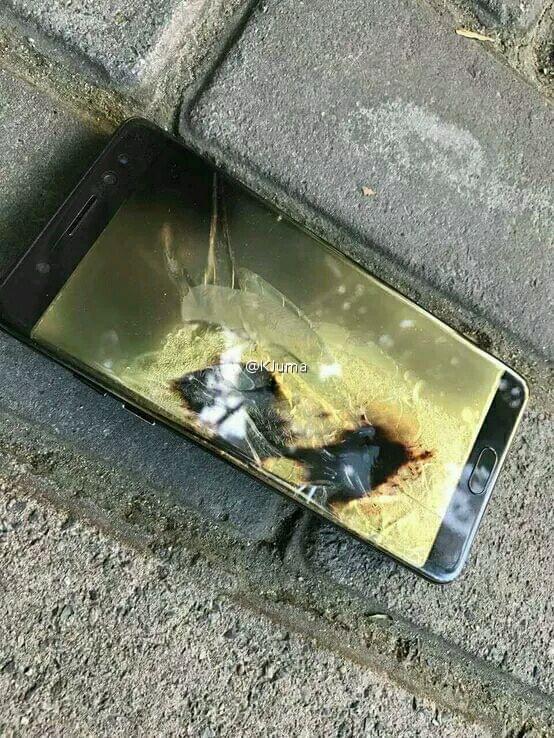 国行Galaxy Note 7第三炸 这次来自苏宁的照片 - 1
