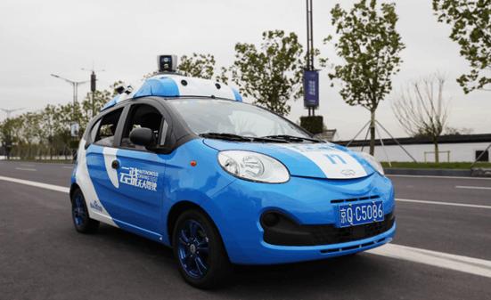 百度无人车在乌镇开展 国内首次开放城市道路运营的照片 - 2