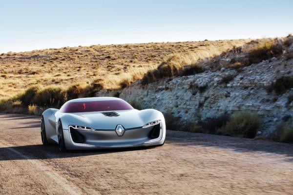 雷诺发布Trezor概念电动超跑:使用蛤壳式车门的照片 - 1