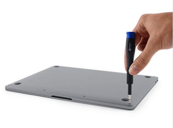 13英寸入门级新MacBook Pro拆解 很难修复的照片 - 8