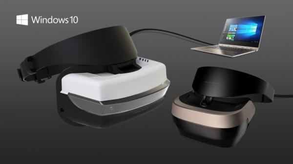 微软12月公布VR头盔详细信息 支持Windows 10系统的照片