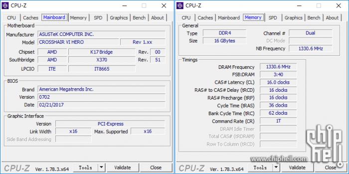 锐龙 AMD Ryzen 7 1800x 评测的照片 - 5