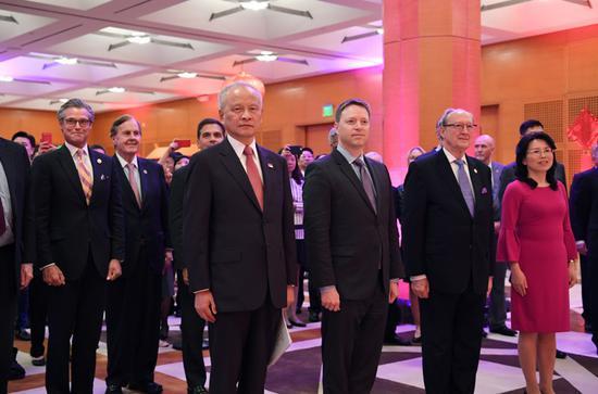 崔天凱:中美關系再一次需要作出歷史性的選擇