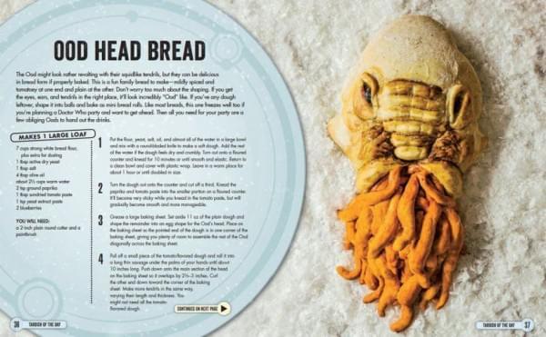 BBC联手美食作家推出一本《神秘博士》官方菜谱的照片 - 4