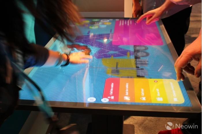 微软展示Kodisoft Windows 10 IoT Core交互式平板的照片 - 5